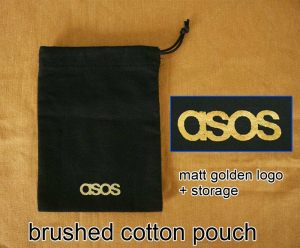 Jewelry Cotton Bruch Draw String Pouch