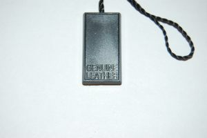 Jewelry Plastic Tag - Recessed Engraved