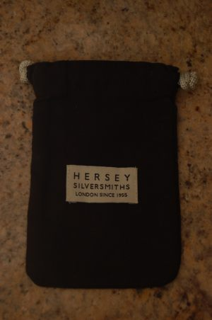 Pouch with label