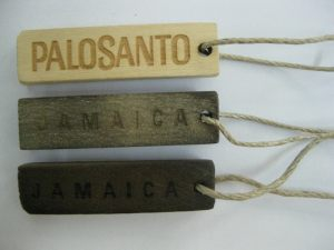 Wood Hang Tag